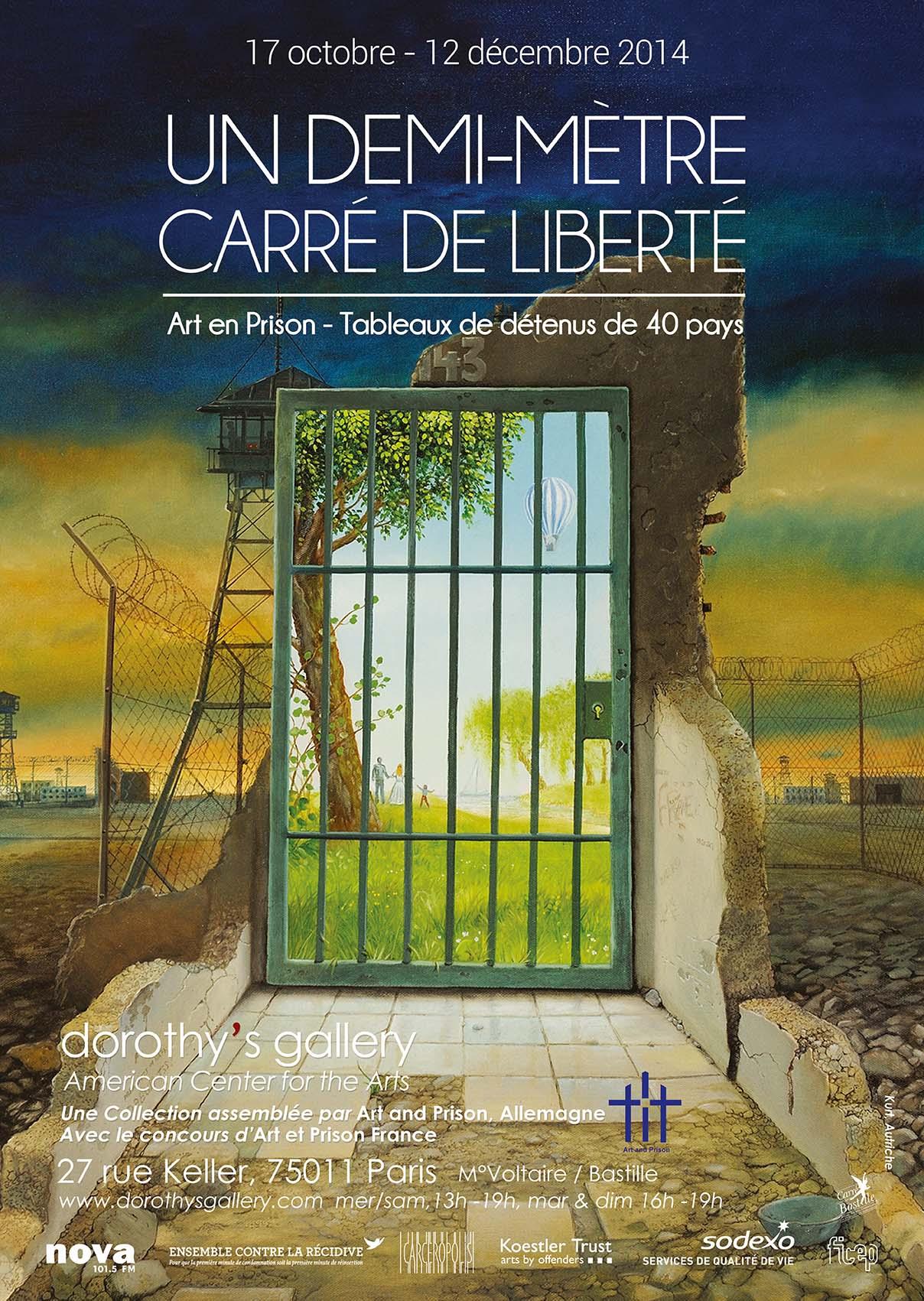 Affiche Art & Prison BD WEB