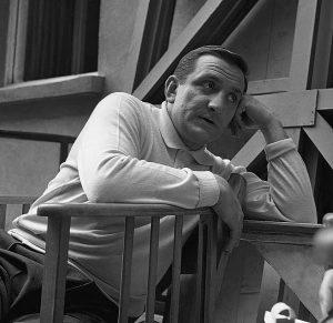 Lino Ventura, juillet 1959 © Gérald Bloncourt